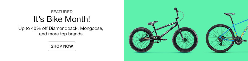 Up to 40% off Bikes from Top Brands