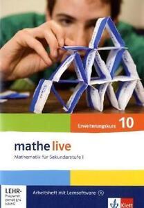 Mathe-live-Arbeitsheft-mit-Loesungsheft-und-Lernsoftware-Erweiterungskurs-10-S