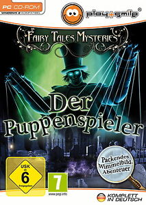 Fairy Tales Mysteries: Der Puppenspieler (PC, 2013, DVD-Box) - <span itemprop='availableAtOrFrom'>Leibnitz, Österreich</span> - Fairy Tales Mysteries: Der Puppenspieler (PC, 2013, DVD-Box) - Leibnitz, Österreich
