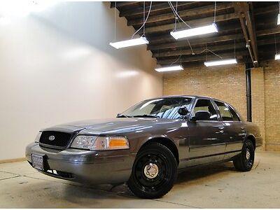 Sell Used 09 Crown Victoria P71 Police Titanium Gray 96k Miles