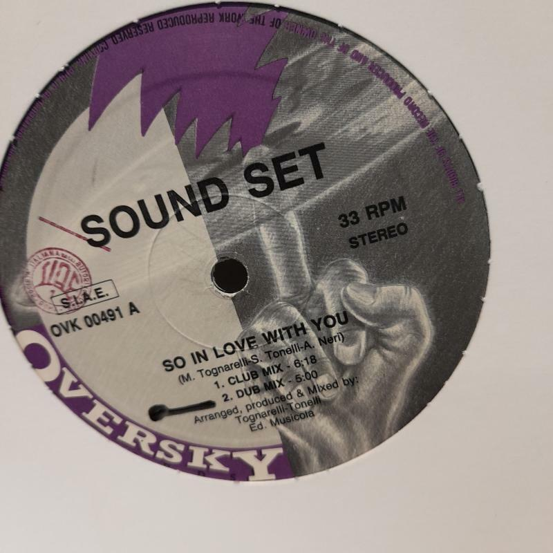 Disco 12' sound set - so in love with you -
