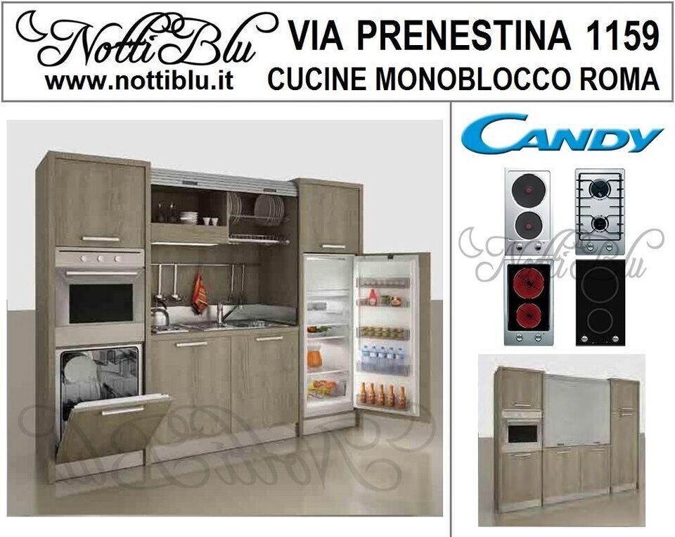 Cucine Monoblocco Cottura 2 Zone _ Cucina ALMA