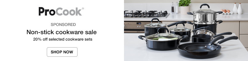 20% off selected cookware sets