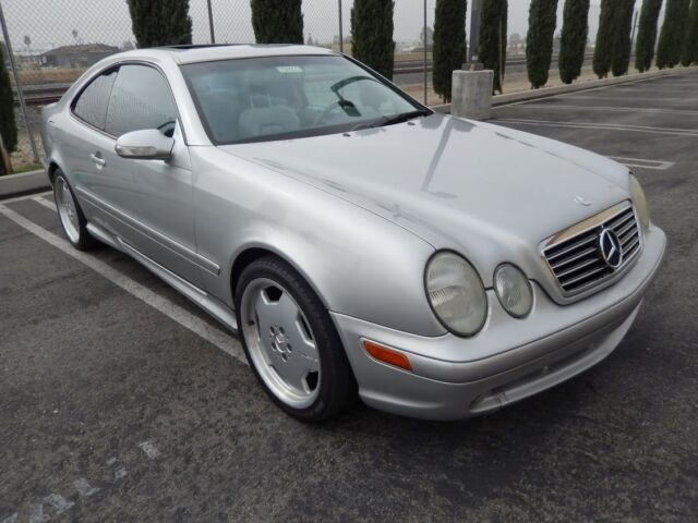 2000 mercedes 430clk amg coupe 132 m 2 tone leather great for Mercedes benz used car locator