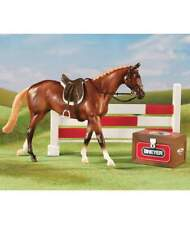Set completo Show Jumping Breyer in scala 1:12 16 cm