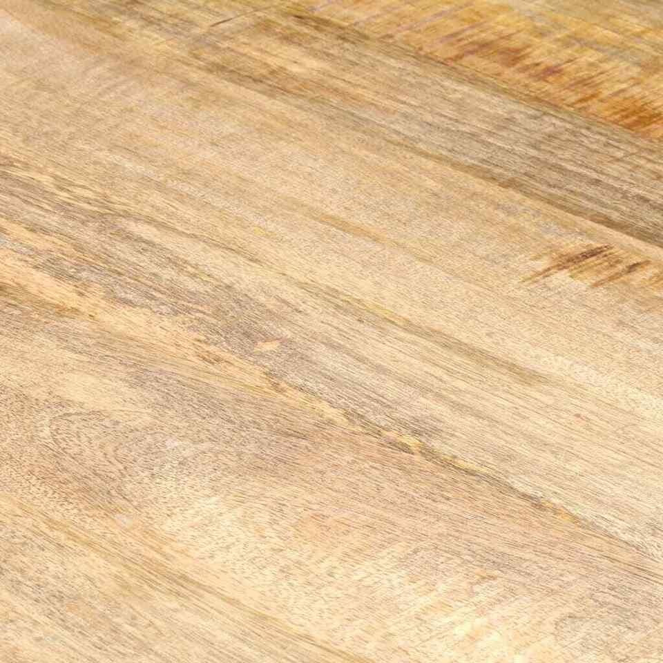 Tavolo da Pranzo 160x80x75 cm in Legno Massello di Mango 2