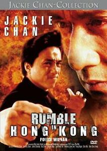Jackie-Chan-Rumble-in-Hong-Kong-Police-Woman-DVD-Zustand-sehr-gut