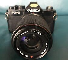 Yashica FX3 zoom - Tokina SD 70-210mm f4