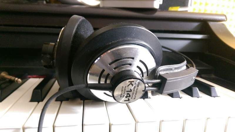 Akg k141 k 141 cuffie professionali originali made in austria 8