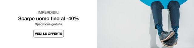Scarpe uomo fino al -40%
