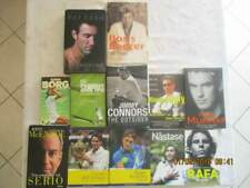 12 libri sul tennis (9 in inglese)