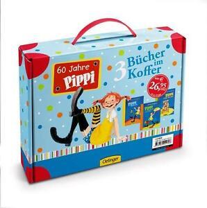 Farbige Pippi-Ausgaben im Spielkoffer, 3 Bände von Lindgren, Astrid