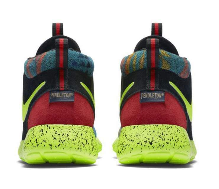 Nike rosche one mid winter pend gs pendleton 40 nuove 2
