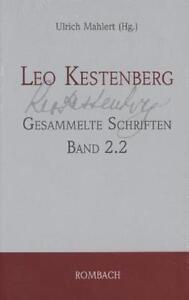 Leo Kestenberg - Gesammelte Schriften Band 2.2