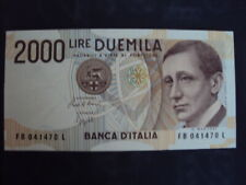 Carta moneta 2000 lire marconi