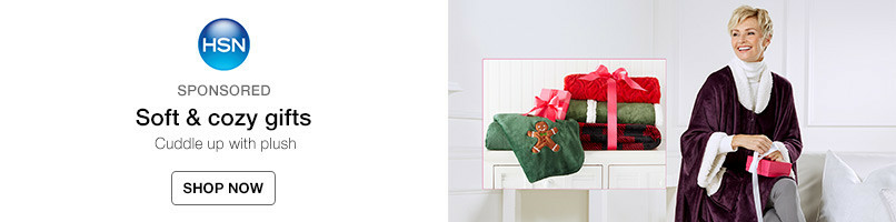Soft & cozy gifts: Cuddle up with plush