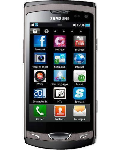 Smartphone Samsung Wave II GT-S8530 - 2 Go - Noir
