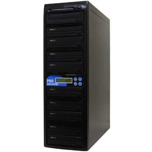 ProDuplicator CD DVD Duplicator 24x LightScribe SATA Burner 1 Target Copy Tower