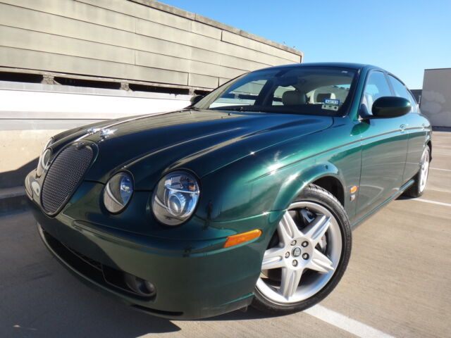 2003 jaguar s type r supercharged sedan 4 2l v8. Black Bedroom Furniture Sets. Home Design Ideas