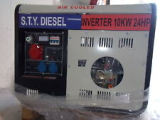 Gruppo elettrogeno new sconto 50% 10 kw diesel