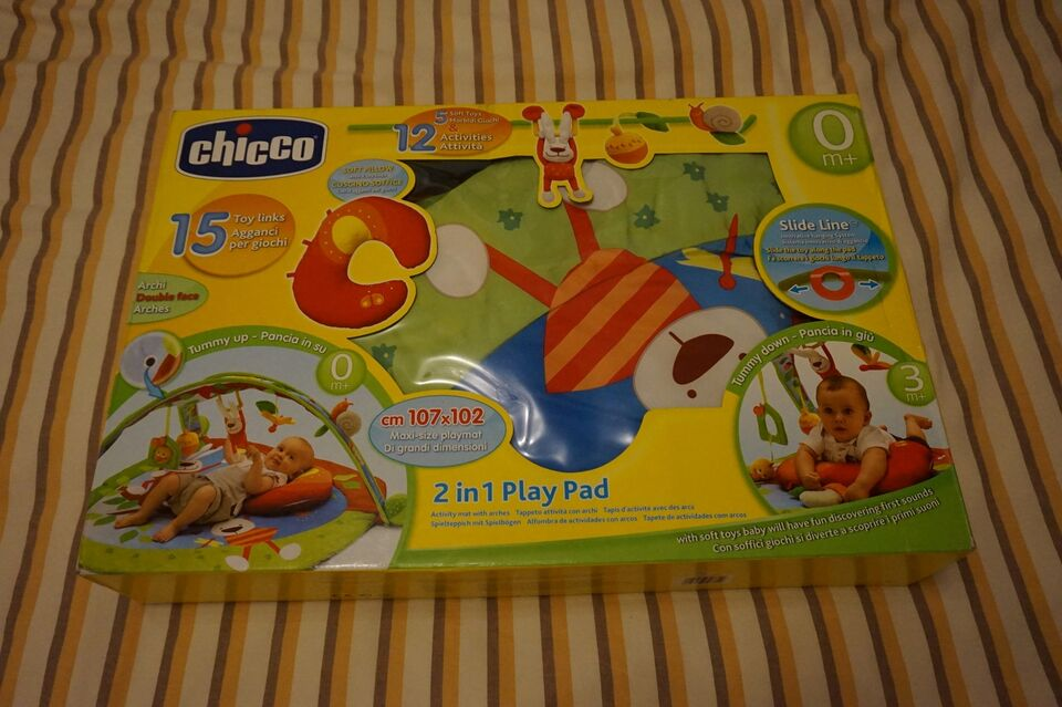 Palestrina 2 in 1 play pad con cuscino