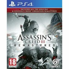 Pack Assassin's Creed 3 + Assassin's Creed Liberation Remaster Jeux PS