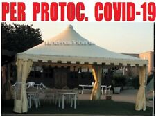 Gazebo 5x6 WIND PLUS tettoia impermeabile 6x5 box