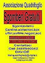 Sgomberi Gratuiti Case Cantine Soffitte Ravenna e provincia