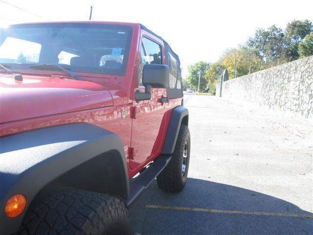 Jeep Wrangler Sport 2 Door Professionally Lifted Big Tires and Dick Cepek Wheels