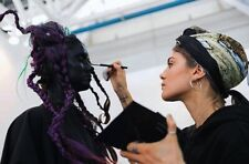 Truccatrice make-up artist ed acconciatrice