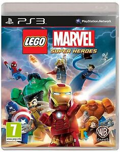 LEGO Marvel Super Heroes Sony PlayStation 3 2013 - Croydon, United Kingdom - LEGO Marvel Super Heroes Sony PlayStation 3 2013 - Croydon, United Kingdom