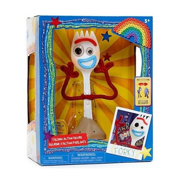 Personaggio parlante forky toy story 4 disney - lingua inglese