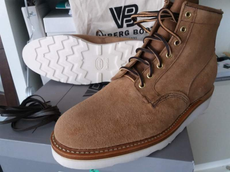 VIBERG 11 Scout boot Made in Canada CXL Horween