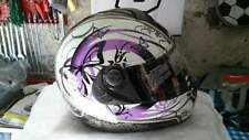CASCO MOTO Uomo Donna Airoh Aster X Butterfly violet