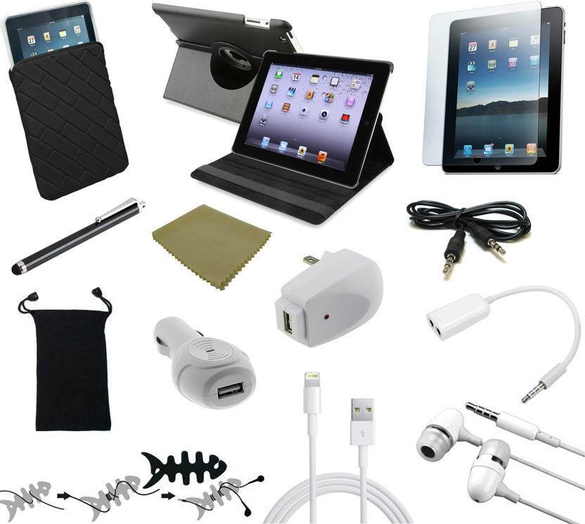 13-Item Accessory Bundle for iPad