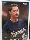 Ryan Braun Single Baseball Cards