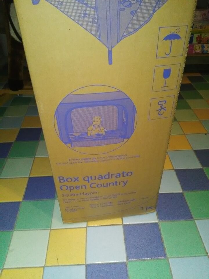 Box quadrato chicco open county