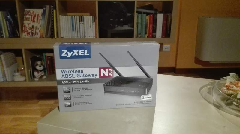 Routrer Zyxel N300