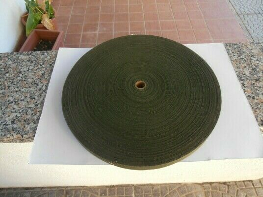 Us army 100 yds.- o.green cotton ribbon reel