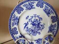 Antichi rari piatti inglesi flow Blue Corbeille 800 collezione