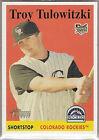 Rookie Troy Tulowitzki Baseball Cards