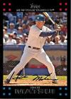 Autographed Hideki Matsui Baseball Cards