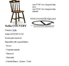 Art.890sedia country