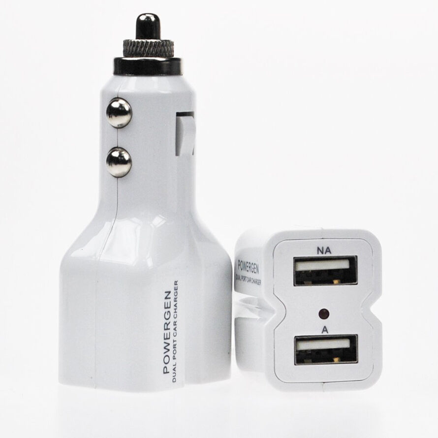 PowerGen Dual USB Car Charger