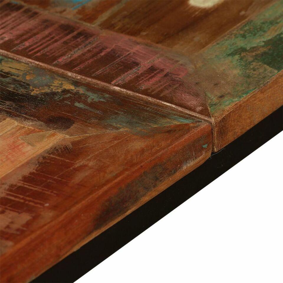 Tavolo da Pranzo in Legno Massello Anticato 180 cm 8
