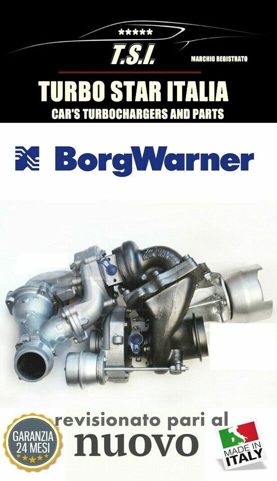 Turbina biturbo 10009700008/36 mercedes sprinter...
