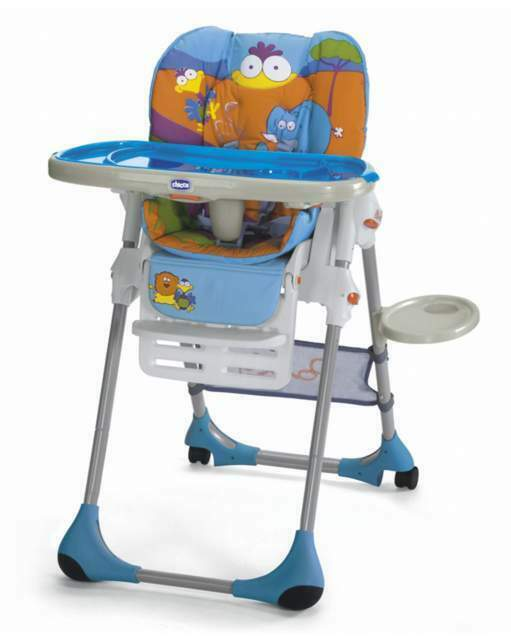 Seggiolone Chicco Polly 2 in 1 Safari