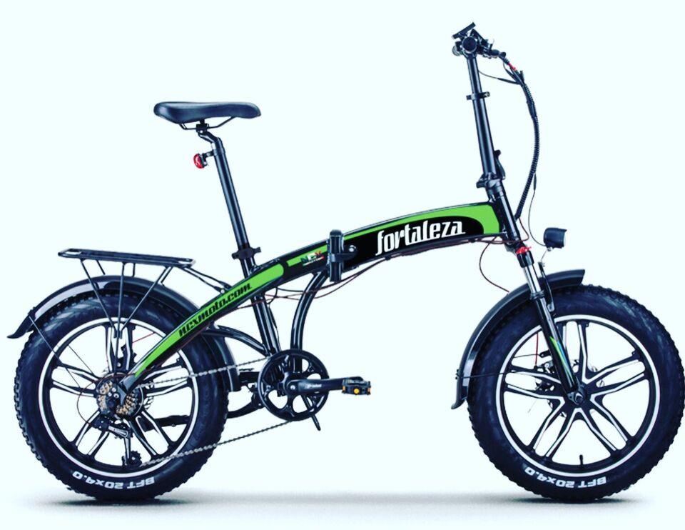Fat bike pieghevole fortaleza alloy nuovo