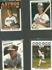 Topps Boston Red Sox Lot Baseball Cards