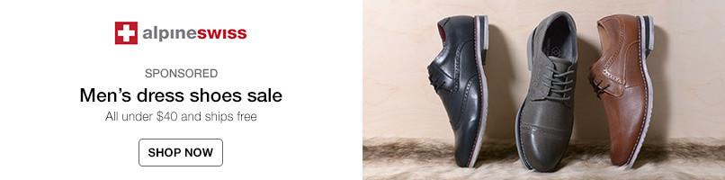 Alpine Swiss Mens dress shoes sale